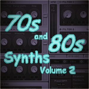 70s and 80s Synths Volume 2